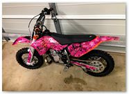 KTM SX65 AMR Graphics Butterflies Black Pink