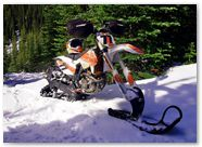 KTM XCF450 CREATORX Graphics Canadian Flyer Orange White