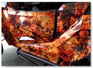 Polaris RZR1000 CREATORX Graphics Inferno Orange 02