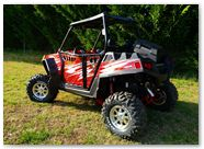 Polaris RZR CreatorX Graphics Rockin 80s Red 002