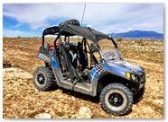 Polaris RZR CreatorX Graphics SpiderX Blue 002