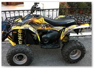 Polaris Scrabler CreatorX Graphics SpiderX Yellow 2