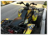 Polaris Scrabler CreatorX Graphics SpiderX Yellow 3