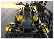 Polaris Scrabler CreatorX Graphics SpiderX Yellow 4