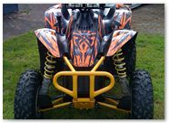 Polaris Scrambler CreatorX Graphics Bolt Thrower Orange 10b