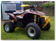 Polaris Scrambler CreatorX Graphics Bolt Thrower Orange 11b