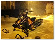 Ski-Doo Rev XM CREATORX Graphics Skull Chief Yellow 2