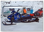 Ski-Doo Rev XM CreatorX Graphics SpiderX Blue 001