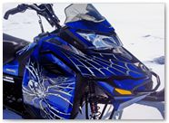 Ski-Doo Rev XM CreatorX Graphics SpiderX Blue 002