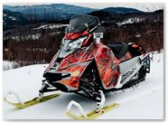 Ski-Doo Rev XM CreatorX Graphics SpiderX Orange 001