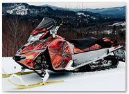 Ski-Doo Rev XM CreatorX Graphics SpiderX Orange 002