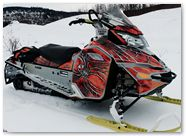 Ski-Doo Rev XM CreatorX Graphics SpiderX Orange 003