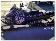 Ski-Doo Rev XM CreatorX Graphics Tribal Madness Pink Lite 002
