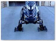 Ski-Doo Rev XM CreatorX Graphics Tribal Madness Silver 002