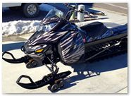 Ski-Doo Rev XM CreatorX Graphics Tribal Madness Silver 003