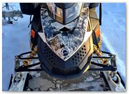 Ski-Doo Rev XP CreatorX Graphics Inferno White 002
