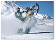 Ski-Doo Rev XP CreatorX Graphics Little Sins Blue Ice 003