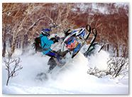 Ski-Doo Rev XP CreatorX Graphics Little Sins Blue Ice 005