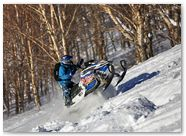 Ski-Doo Rev XP CreatorX Graphics Little Sins Blue Ice 008