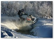 Ski-Doo Rev XP CreatorX Graphics Little Sins Blue Ice 011