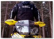Ski-Doo Rev XP CreatorX Graphics Tribal Madness Yellow 002