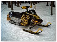 Ski-Doo Rev XP CreatorX Graphics Tribal Madness Yellow 003