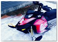 Ski-Doo Rev XP CreatorX Graphics You Rock Red 001