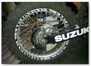 Suzuki DRZ400 CreatorX Graphics Kit Bolt Thrower White 001
