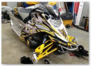 Yamaha FX Nytro CreatorX Graphics Bolt Thrower Yellow 06