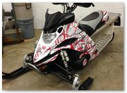 Yamaha FX Nytro CreatorX Graphics Samurai Red White