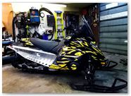 Yamaha FX Nytro CreatorX Graphics Tribal Madness Yellow 001