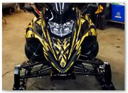 Yamaha FX Nytro CreatorX Graphics Tribal Madness Yellow 002