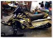 Yamaha FX Nytro CreatorX Graphics Tribal Madness Yellow 003