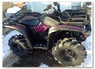 Yamaha Grizzly CREATORX Graphics Z Camo Pink 002