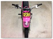Yamaha PW CreatorX Graphics Samurai Yellow Pink Custom 04