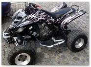 Yamaha Raptor 660 Bolt Thrower Silver 2