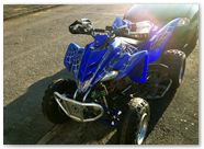 Yamaha Raptor 660 CreatorX Graphics SpiderX Blue 001