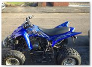 Yamaha Raptor 660 CREATORX Graphics SpiderX Blue 002
