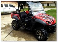 Yamaha Rhino CreatorX Graphics SpiderX Red 002