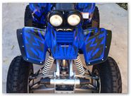 Yamaha Warrior 350 CREATORX Graphics Tribal Madness Blue 2