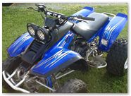 Yamaha Warrior CreatorX Graphics Cold Fusion Blue 001