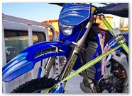 Yamaha WR250 WR450 CreatorX Graphics Kit You Rock Blue 002