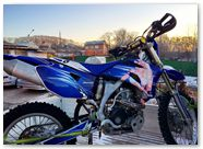 Yamaha WR250 WR450 CreatorX Graphics Kit You Rock Blue 003