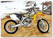 Yamaha YZ CreatorX Graphics Bolt Thrower Yellow