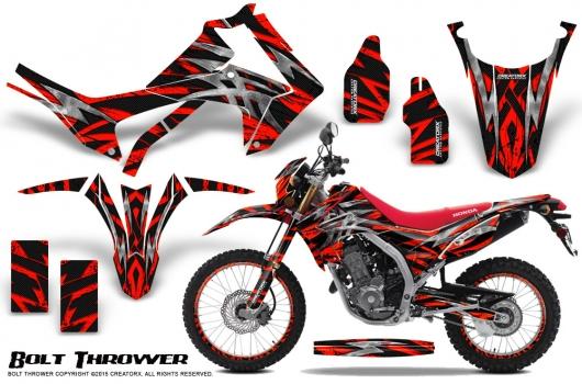2013-2018 Honda Crf 125 Grafiken Set Aufkleber Deko CRF125 2014 2015 2016