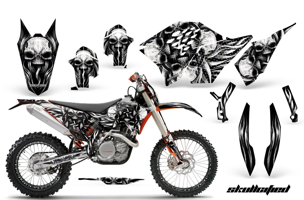 creatorx skullcified dirt bike graphics