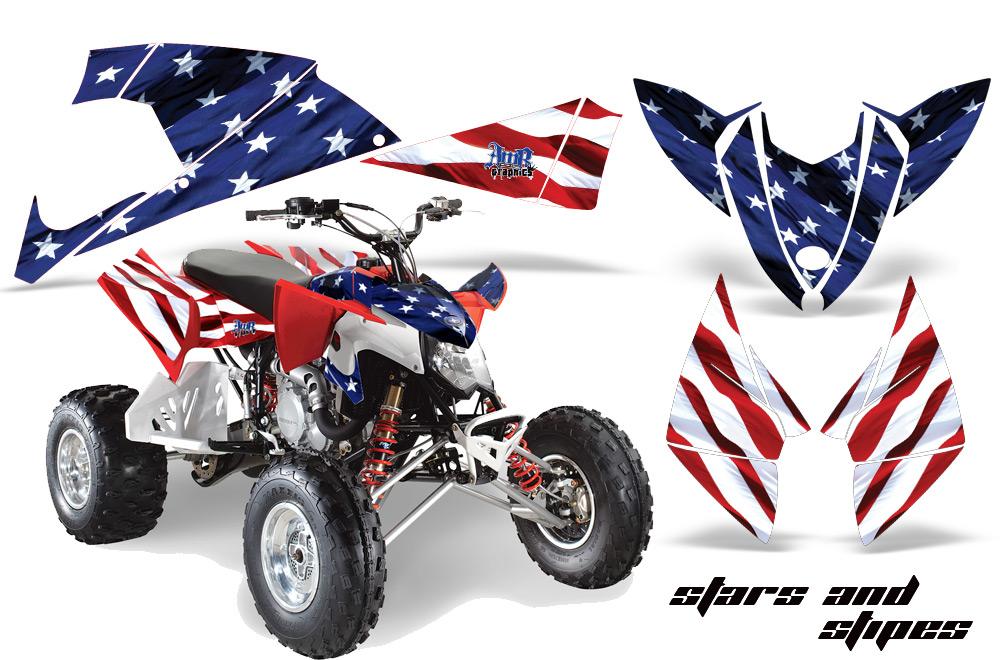 Polaris Outlaw 450 500 525 2009 2012 Graphics Kit