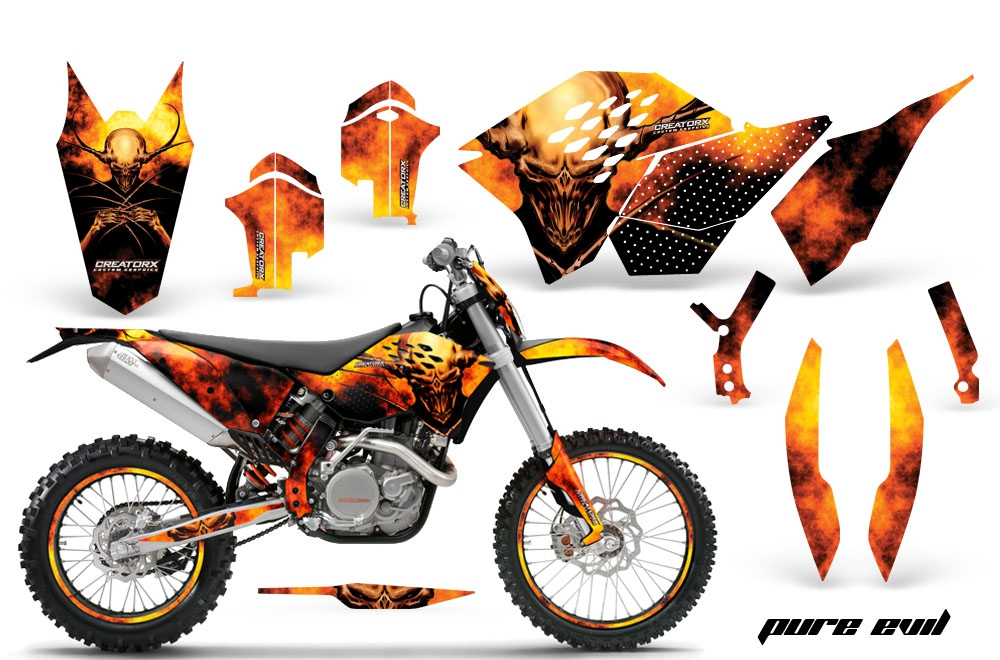 CREATORX CUSTOM Dirt Bike Graphics Kits for HONDA
