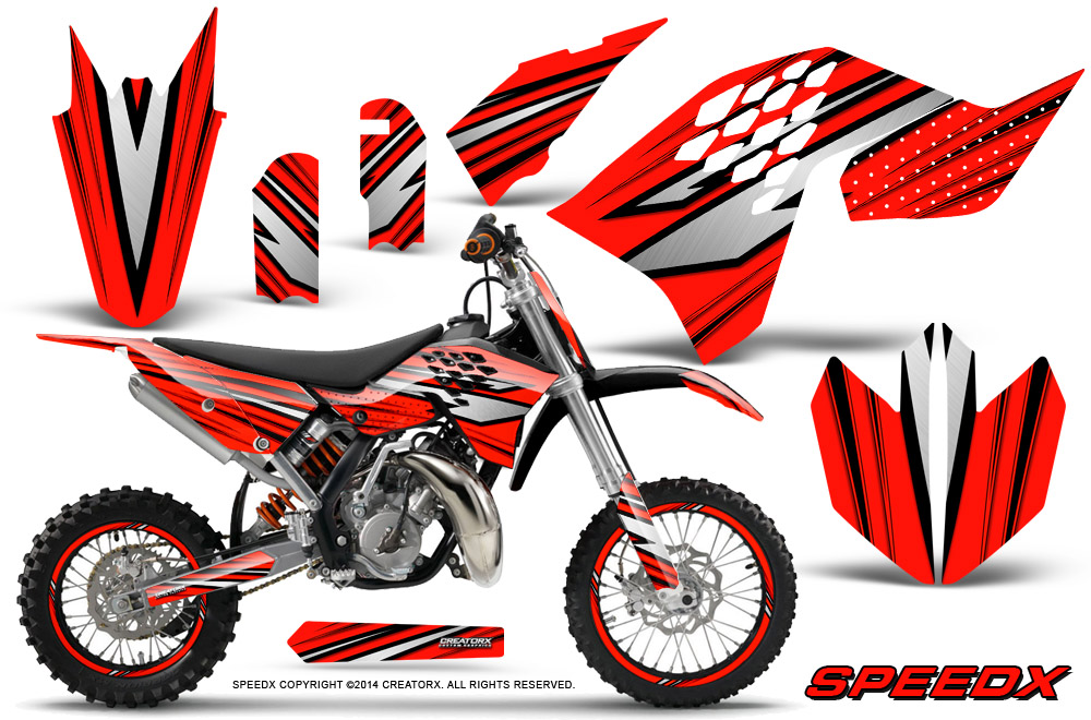 Ktm Dirt Bikes With Red Rims