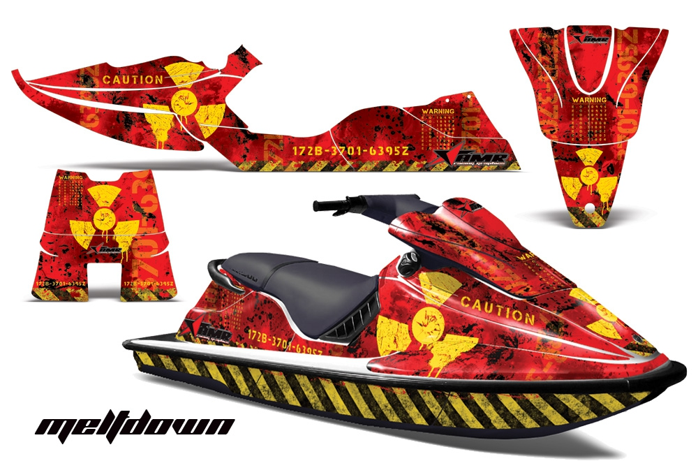 Decal Graphic Kit Sea-Doo XP Jet Ski Wrap Jetski Decal Parts Seadoo Deco 94-96 R